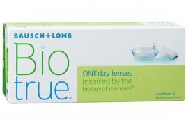 Линзы однодневные BioTrue Bausch+Lomb, 30 линз