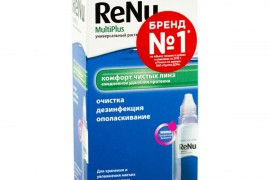 Универсальный раствор для контактных линз Renu MultiPlus 60 ml