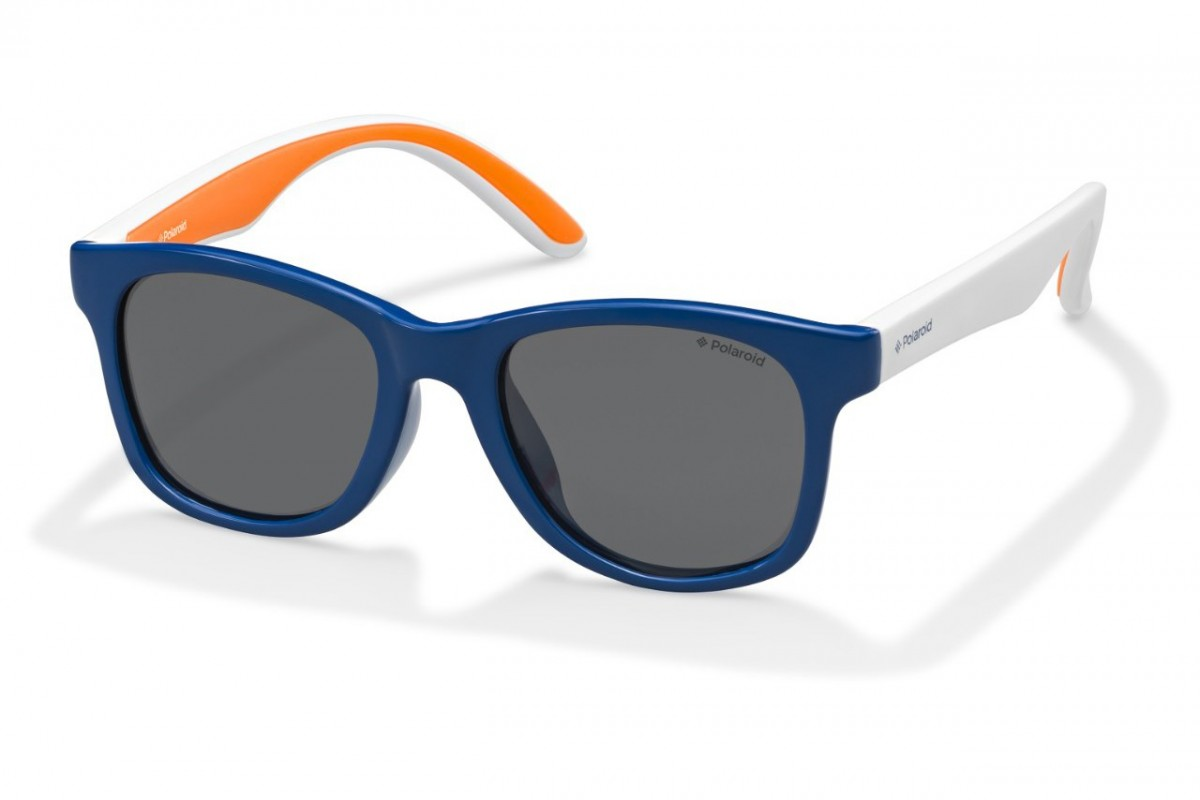 Детские очки Polaroid PLD8001-S-T20-Y2 (PLD8001-S-T20-48-Y2), возраст: 4-7 лет
