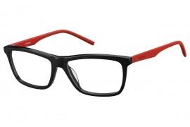 Медицинская оправа PLD D307 BLACK RED